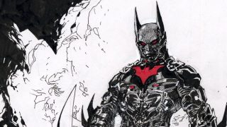 Jim Lee Sketches Batman Beyond For Charity