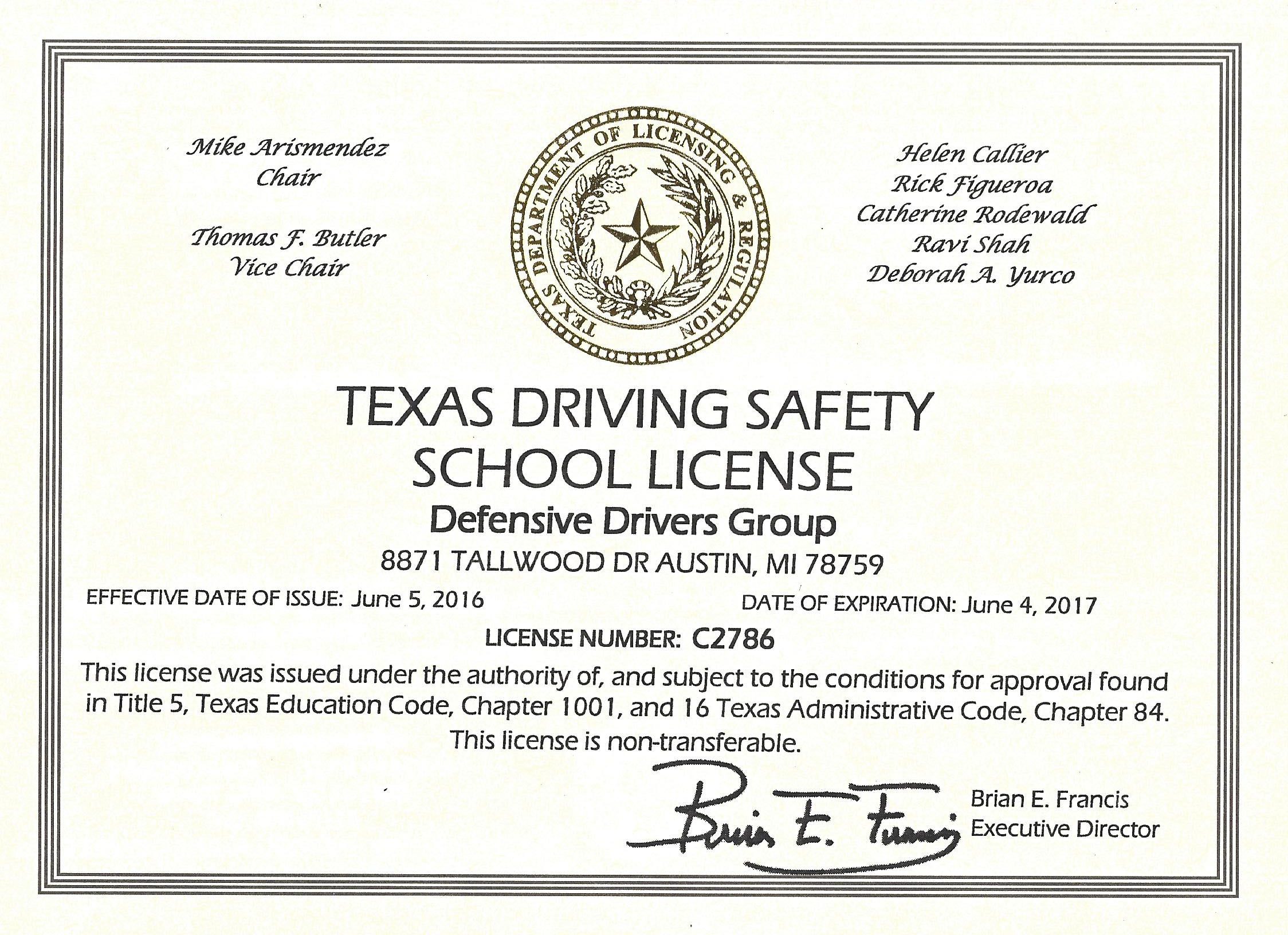 Texas Defensive Driving Online Courses Tdlr Home