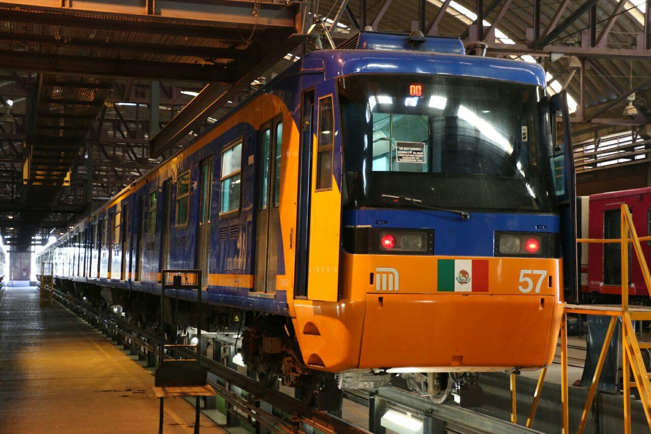 SCT supervisa reconversión de trenes en Línea A