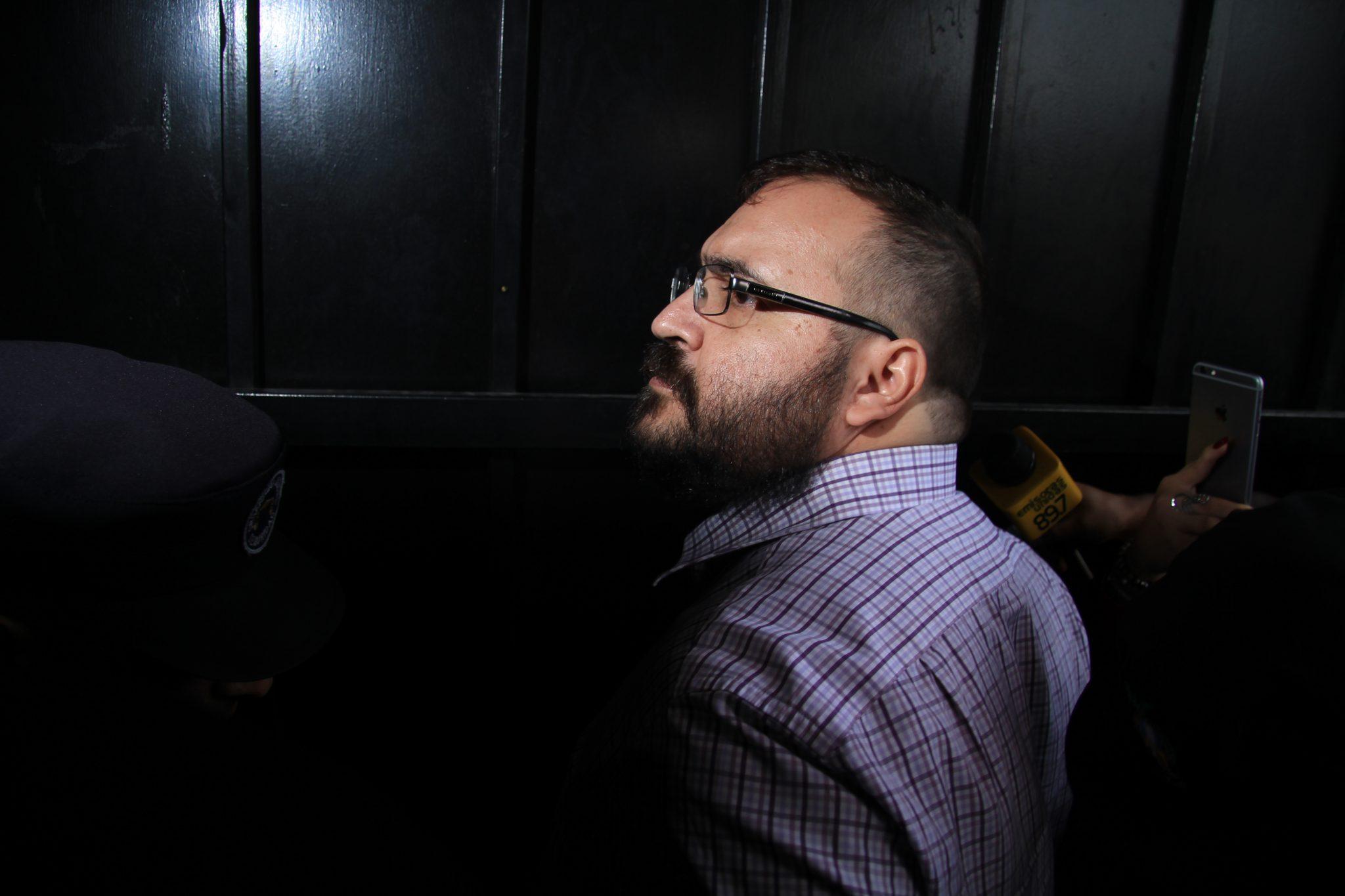 Javier Duarte se queda sin abogados; su defensa renunció al caso
