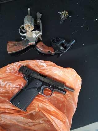 Armas involucradas en el crimen