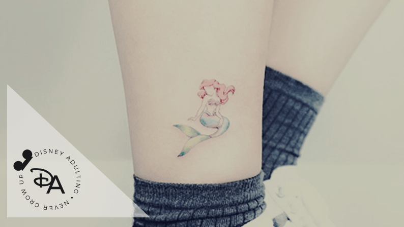 Tiny Disney Tattoos