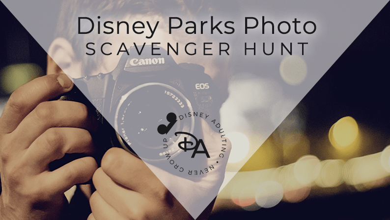 Disney Photo Scavenger Hunt