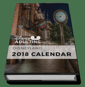 2018 Disney Calendar