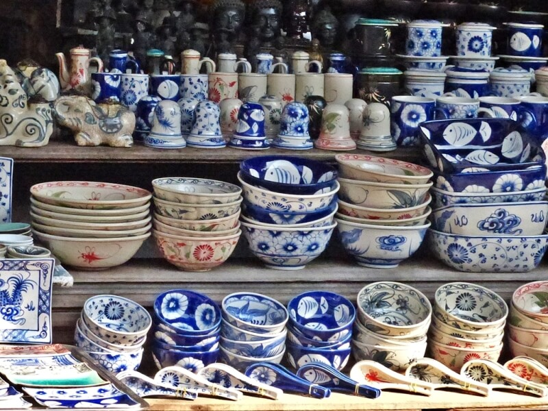 Vietnam shopping : Ceramic Gifts in vietnam