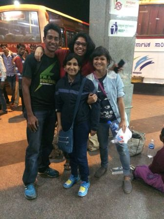 Ajay, Firdos, Swetha, Shubhra