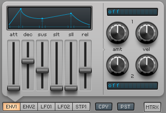 How to Make an Electric Piano in Spire_05 - Amp Env