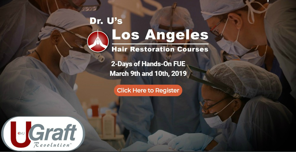 Los angeles hair restoration training 2019