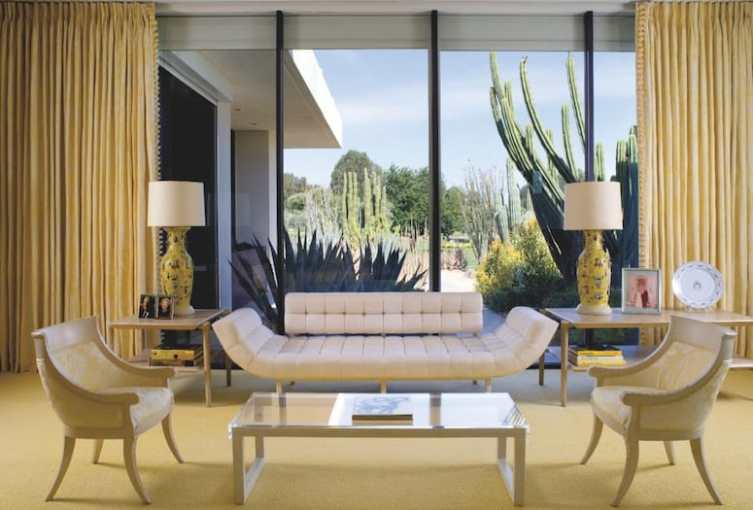 Palm Springs Interior Designer   Billy Haines   The Talented Mr  Haines When Ann and Jack Warner finally decided to buy a place in Palm Springs in  the early 1960s after years of house guesting or staying at the Racquet  Club