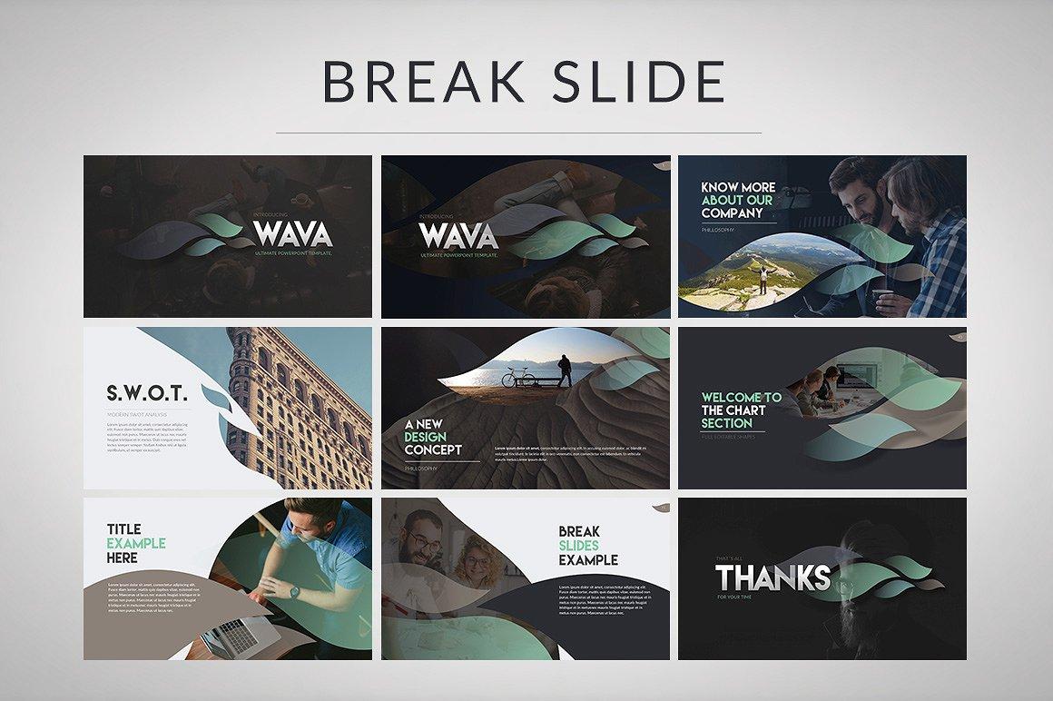 Wava - Keynote Template