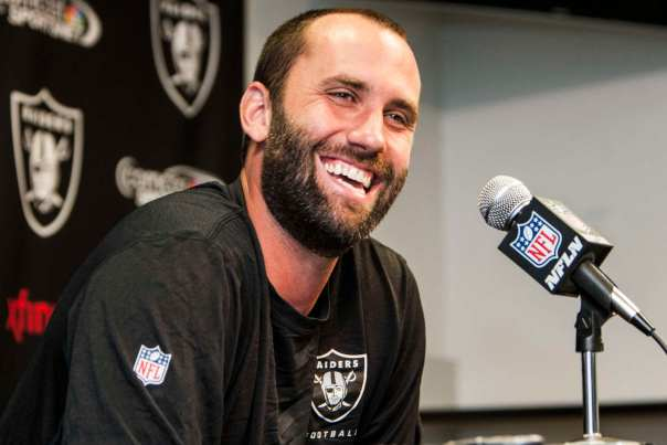 After starting in Houston for seven seasons, quarterback Matt Schaub never got off the ground with Oakland in 2014, completing just five passes all season alongside a pair of interceptions.