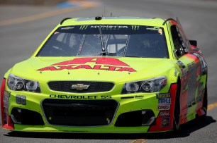 Monster Energy NASCAR Cup Series driver Dale Earnhardt Jr. (88) makes his way around the track at the Toyota/Save Mart 350 at Sonoma Raceway in Sonoma, Calif., on Sunday, June 24, 2017.