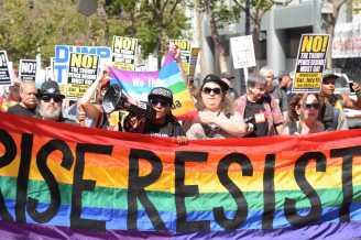 Anti-Trump Protest