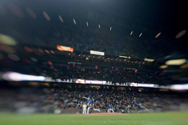 Chicago Cubs relief pitcher Koji Uehara (19) throws a pitch in the seventh inning as the Chicago Cubs face the San Francisco Giants at AT&T Park in San Francisco, Calif., on Tuesday, August 8, 2017.