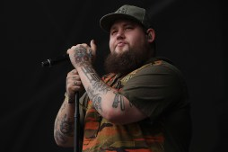 Rag'N'Bone Man performs at the Outside Lands Music Festival at Golden Gate Park in San Francisco, Calif., on Friday, August 11, 2017.