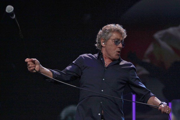 Roger Daltrey and The Who performs at the Outside Lands Music Festival at Golden Gate Park in San Francisco, Calif., on Sunday, August 13, 2017.
