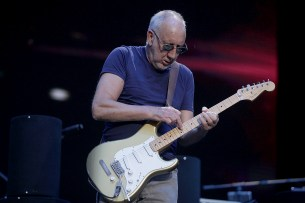 Pete Townshend and The Who performs at the Outside Lands Music Festival at Golden Gate Park in San Francisco, Calif., on Sunday, August 13, 2017.