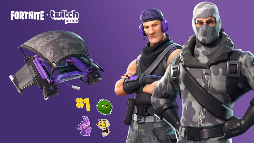 Fortnite Twitch Prime Pack Dresses Up Jonesy | Shacknews