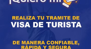 ¡Quiero mi Visa! – Tramite de visa de turista