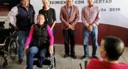 Reorientan recursos a favor de los  adultos mayores y personas con discapacidad