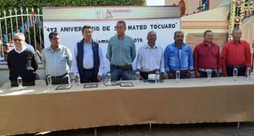 """Festejan los 492 años de la Fundación de """"San Mateo Tócuaro"""""""