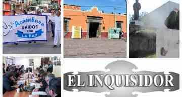 """El Inquisidor: ¡Marcha por la paz!. Los """"4 Fantásticos"""" del Ayuntamiento. Sin remodelarse, el edificio de la CNC. ¿Cambio de mando en el IMCA?."""