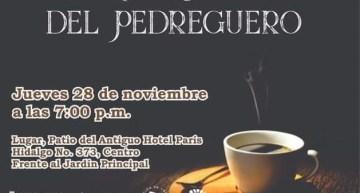 Invitación al Café Cultural