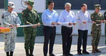 AMLO inaugura las bases de la  Guardia Nacional en Pénjamo y Romita