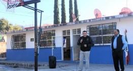 Visita escuelas el Diputado Local Luis Magdaleno Gordillo