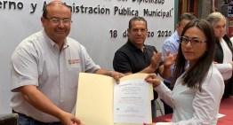 """Egresan 57 funcionarios  del Diplomado sobre """"Gobierno y Administración Pública"""""""
