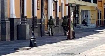 Localizan una granada en la azotea de la Alcaldía de Acámbaro; no explotó