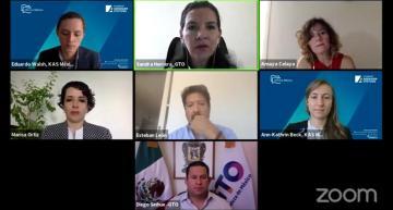 Participa Sinhue Rodríguez  en el Webinar Ciudades Sostenibles y Resilientes
