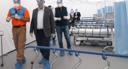 Se invirtieron 38 mdp  en el nuevo Hospital Estatal Móvil COVID-19