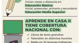 Inicia Ciclo escolar 2020-2021