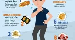 Alimentos que debilitan el sistema inmunológico