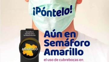 Guanajuato sigue con semáforo amarillo