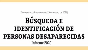 Búsqueda e identificación de personas desaparecidas