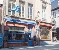 We found a Greek restaurant in Antwerp!