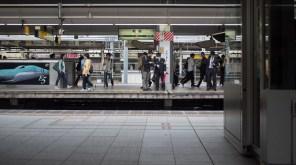 Helpful conductor at Shinjuku Station