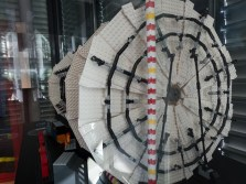 There is a Lego model of the ATLAS detector