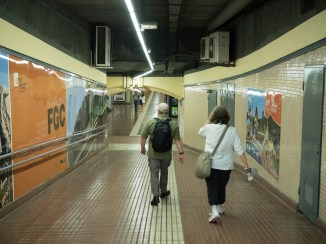 The local subway station
