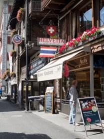 Thai restaurant in Zermatt