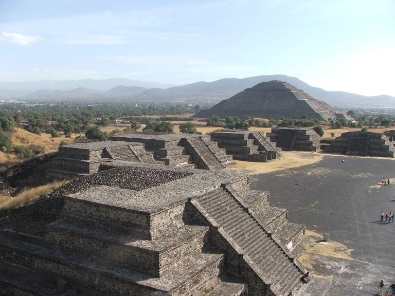 9. Pirámides de Teotihuacán
