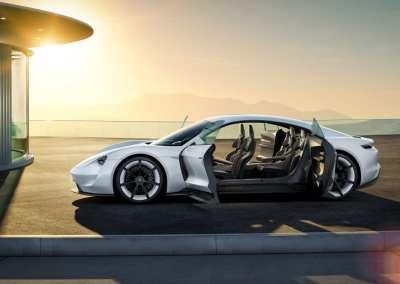 Porsche Mission E Electric Vehicle
