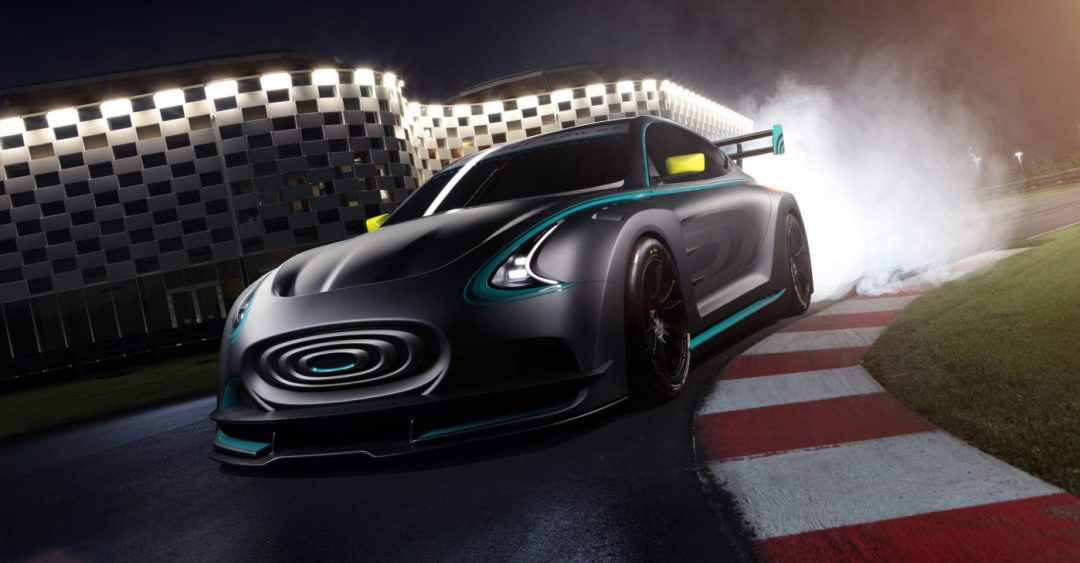 THUNDER POWER RACER CONCEPT ELECTRIC VEHICLE