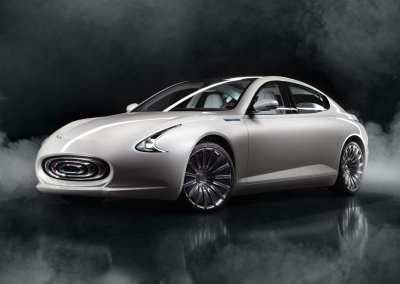 Thunder Power Sedan Concept Electric Vehicle