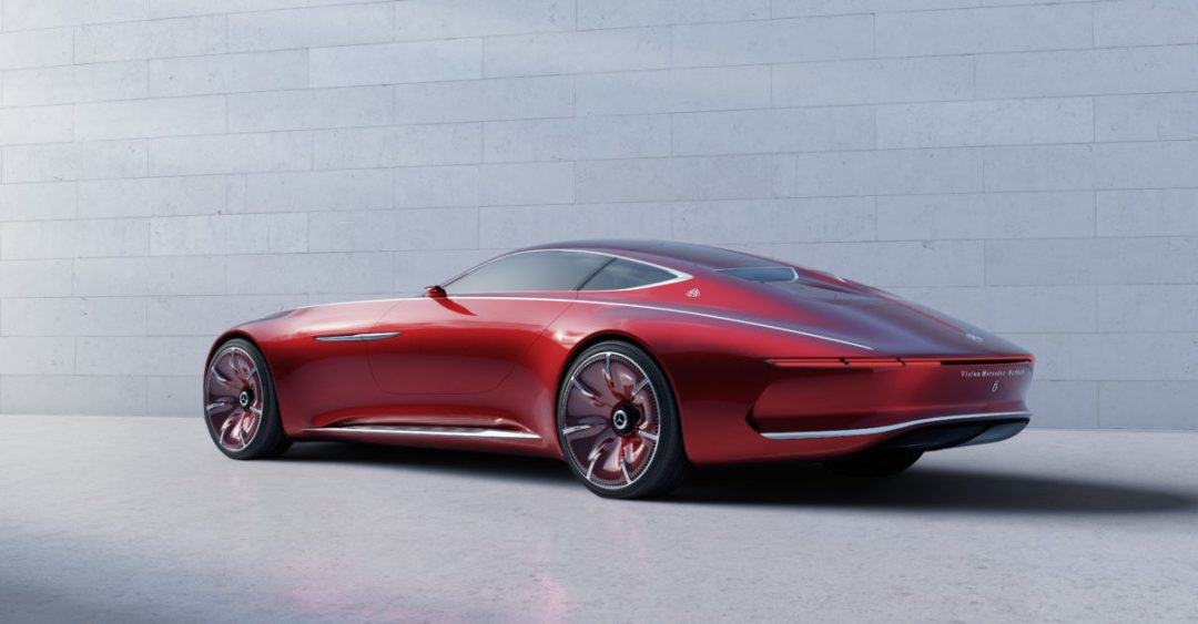 Mercedes Maybach 6 Concept Car