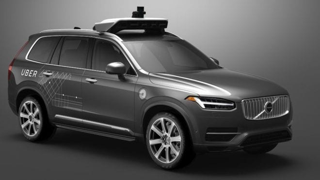 Why did Uber suspend autonomous vehicle program?