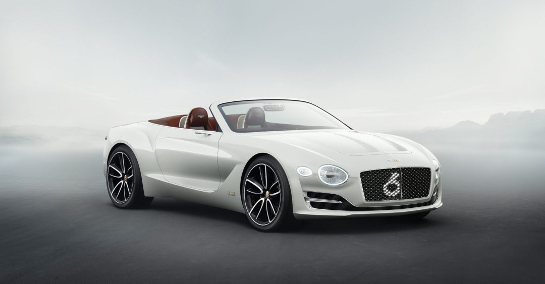 Bentley EXP 12 Speed 6E electric vehicle concept