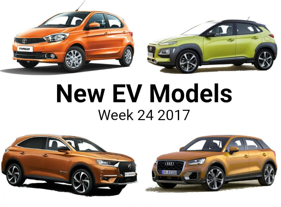 Top 5 Electric Vehicle News Stories of Week 24 2017